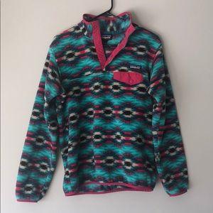 Patagonia Synchilla multicolored pullover sweater